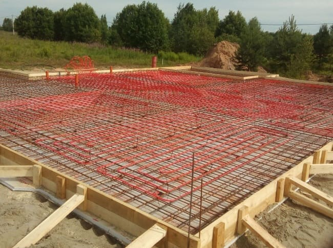 Строительство фундамента для дома под ключ