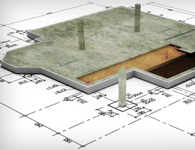 Услуги по проектированию фундамента частного дома
