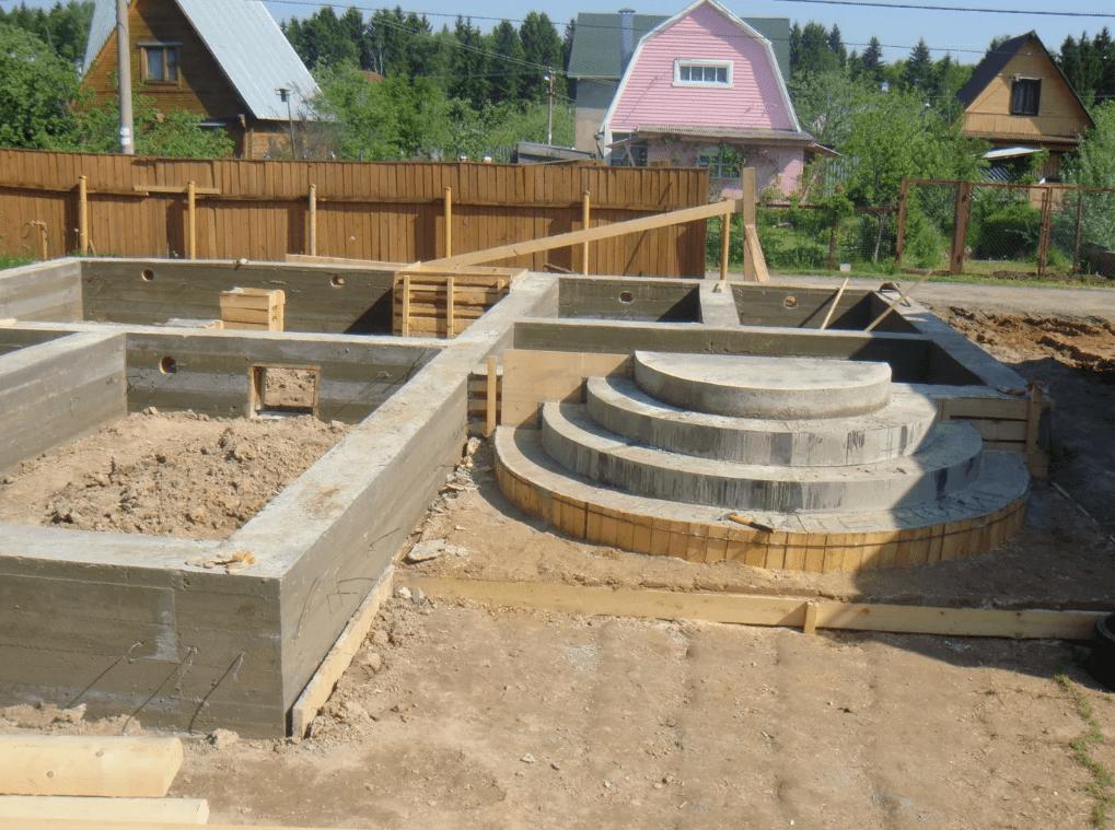 Галерея услуг по проектированию фундамента частного дома